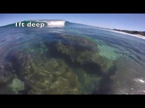 The Reef At PIPELINE - SO SHALLOW ?!