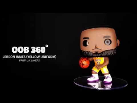 low priced 5890a 32b60 Funko Pop! - Lebron James - Yellow Jersey - Footlocker Exclusive - OOB 360