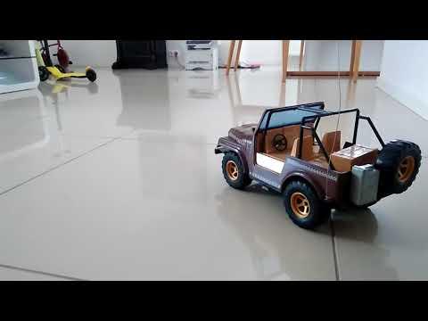 RC Taiyo Radio - Racer ( Radio Shack ) Jeep Renegade 1984 Vintage