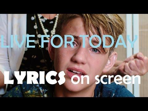 Live For Today - MattyB (Lyrics on screen)