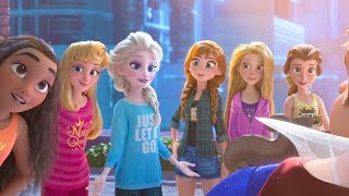 Wreck it ralph 2 : Princess save Ralph | Princesses Scene