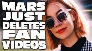 MARS ARGO DELETES FAN VIDEOS BUT JUST WHY?