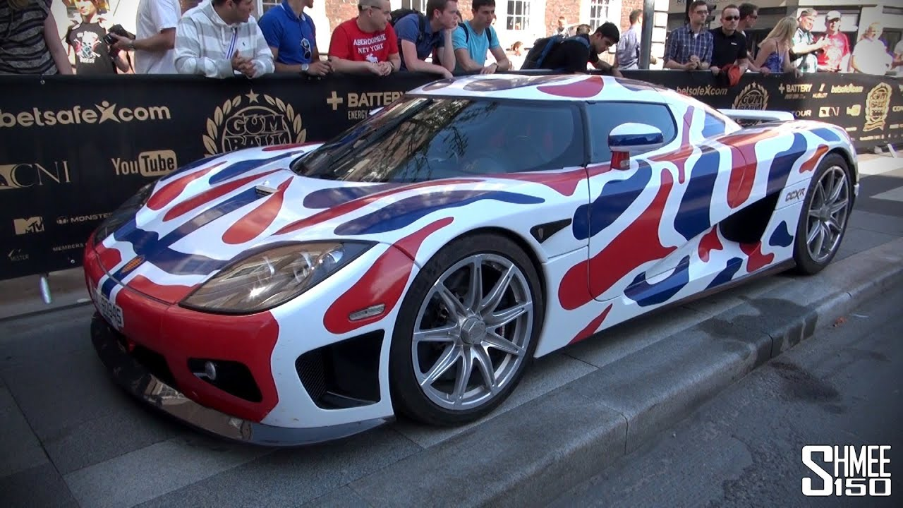 Cars For 3000: Gumball 3000 2013: Koenigsegg CCXR From Norway