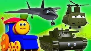 Gambar cover Bob Besuch im Armeelager | Deutsch Kinderlieder | Bob Visit to Army Camp | Kids Tv Deutschland