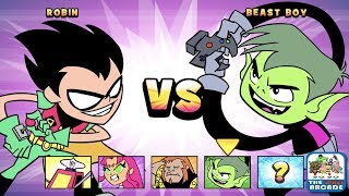 Teen Titans Go: Jump Jousts - Who is the Best Gamer in the Tower? (CN Games)