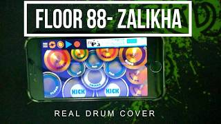 Gambar cover Floor 88 Zalikha Real Drum Cover