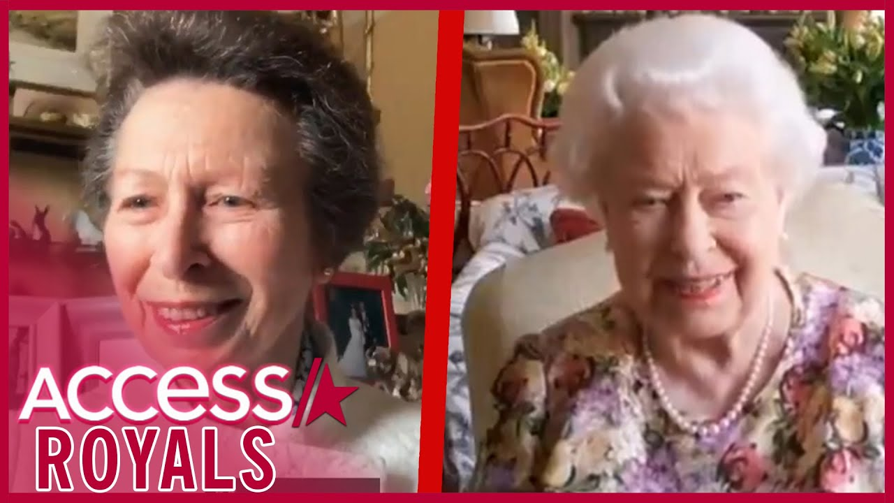 Download Princess Anne Coaches Mom Queen Elizabeth Through Video Chat