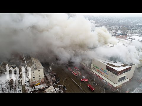 Massive fire in Russian shopping mall kills at least 64 people
