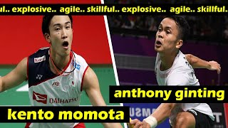 Great Badminton Match ! Kento MOMOTA VS Anthony GINTING (FULL)