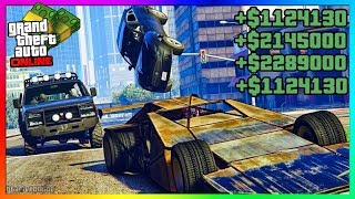GTA 5 ONLINE - *NEW* EASY UNLIMITED MONEY METHOD! | Best Fast GTA Online Money Guide 1.45