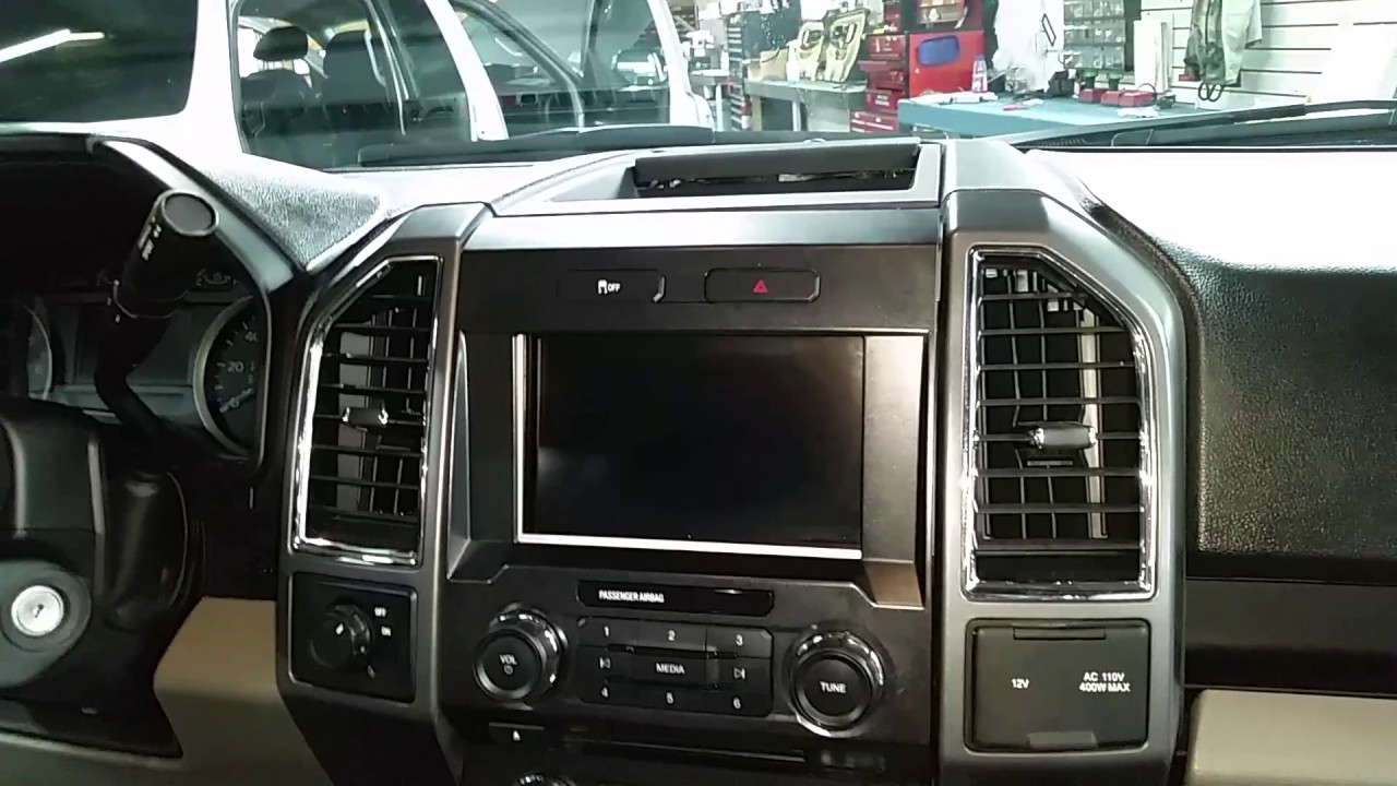 2015 Ford F 150 Xlt Radio Removal Youtube