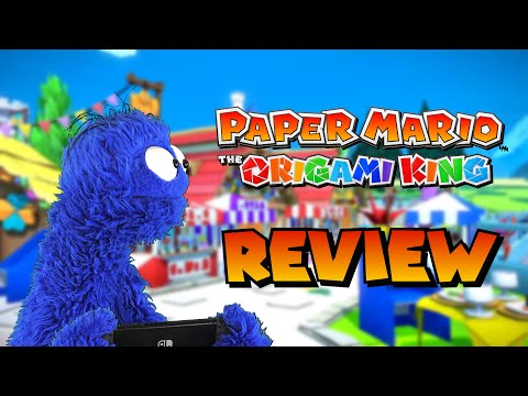 An Overly Long and Critical Review of Paper Mario: The Origami King