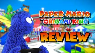 An Overly Long and Critical Review of Paper Mario: The Origami King (Video Game Video Review)