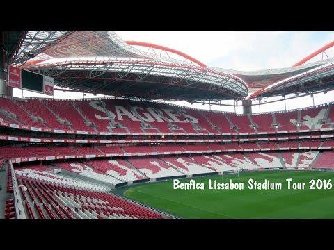 Benfica Lissabon Estádio da Luz Stadium Tour 2016 HD 1080p