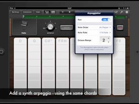 Apple GarageBand iOS Tutorial: Pop/Dubstep