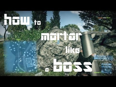 Live Comms: How To Mortar (M224) Like A BOSS (BF3)