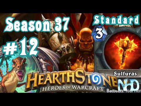 Let's Play Hearthstone (S37) Standard Ranked vs Warrior Rock Solid