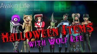 Let's SHOP! 😀 Avakin Life Halloween items 2018 OVERVIEW!