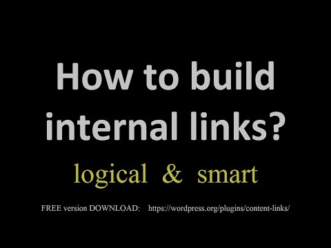 How to build internal links with SEO Post Content Links