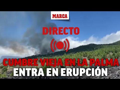 DIRECTO: Erupción volcán en La Palma: la evacuación, en marcha (Imágenes exclusivas cedidas RTVC)