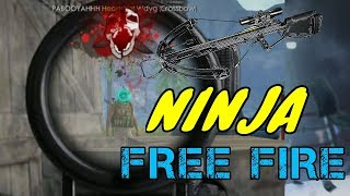 FREE FIRE - NINJA MONTAGE & FUNNY MOMENT ( USING CROSSBOW ONLY)