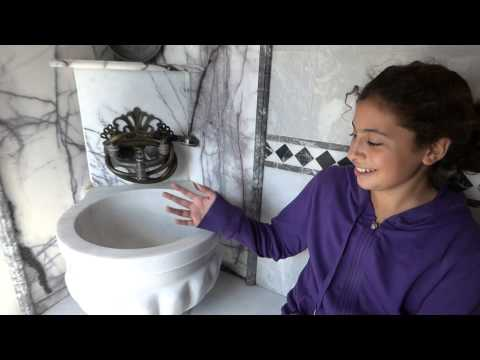 Dahnya Checks Out Turkish Hamam Shower We're Clueless  SmallHotels com tr, Bulbul Yuvasi Butik Otel,