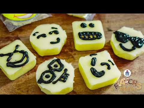 Snacking Cheese Emoji Fun - Fun and Easy Activity for Kids