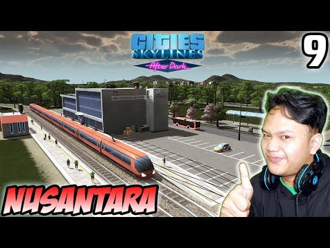 First Train Station - Cities Skylines Indonesia - After Dark #9