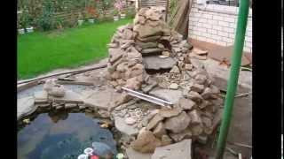 видео Искусственный водоем на даче своими руками пошагово