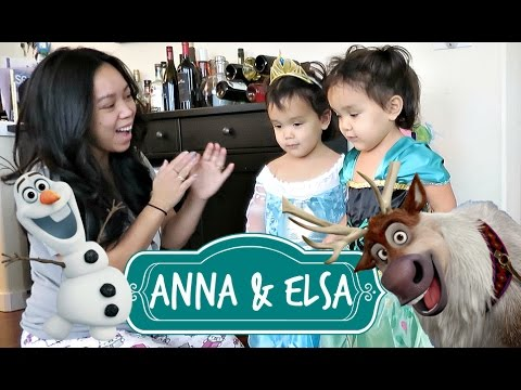 MEETING ANNA AND ELSA! - October 27, 2016 -  ItsJudysLife Vlogs