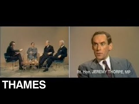 British Politics | Jeremy Thorpe | The Gravest Crisis | 1974