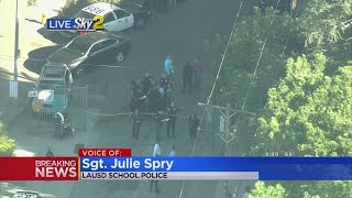 2 Wounded In Shooting At LA Middle School, Suspect In Custody