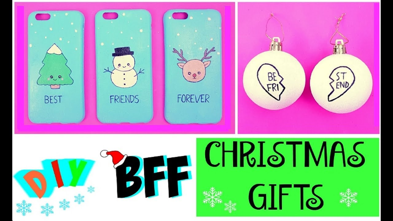 DIY BFF CHRISTMAS GIFTS - Quick & Easy DIY Ideas! - YouTube