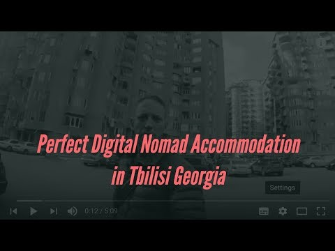 Perfect Digital Nomad Accommodation in Tbilisi Georgia