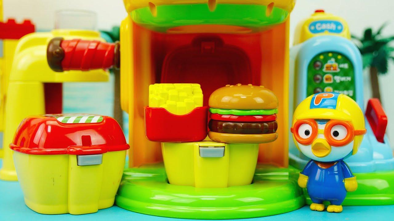 小豆子過家家玩具:會說話的仿真漢堡販賣機