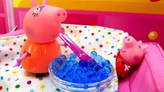 Детские игрушки - Новая Свинка Пеппа - Свинка и мороженое