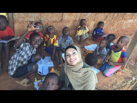 I STAYED AT A VILLAGE IN AFRICA | نمت في قرية أفريقية