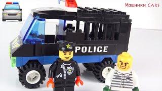Машинки Cars Мультфильмы Лего мультики Про машинки Полицейская машина Видео для детей Лего сити