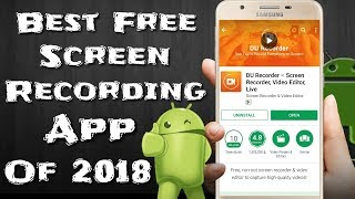 How To Use DU Recorder App   Best Settings For DU Recorder    Best Free Screen Recording App Of 2018
