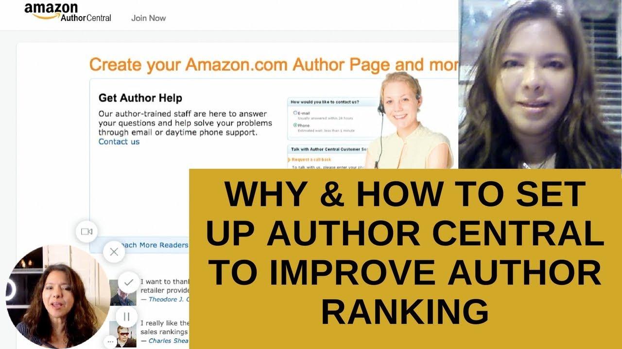 amazon author sales rank