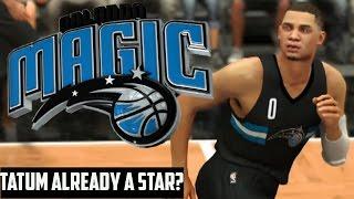 NBA 2K17 Magic MyGM   Is Jayson Tatum Already A Star?