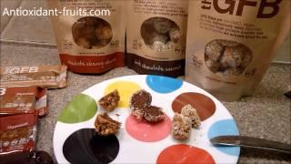 The Gluten Free Bar Gfb Coconut Cashew Crunch Bites Protein Bar Review - Antioxidant-fruits