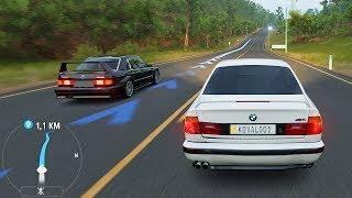 МОЯ BMW E34 M5 РВЁТ ВСЕМ ТРУСЫ! - FORZA HORIZON 3