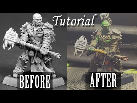 How To Make It Look Good: Miniature Painting Tutorial