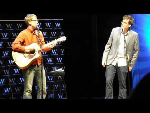 John & Hank Green sing '500 Miles' (Cadogan Hall, TFIOS Live)