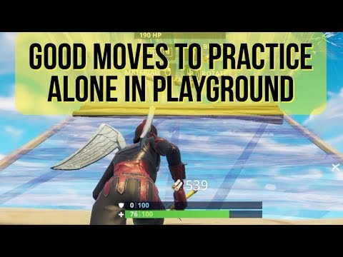 Get better at buildfights by practicing these moves - Fortnite Tips and Tricks