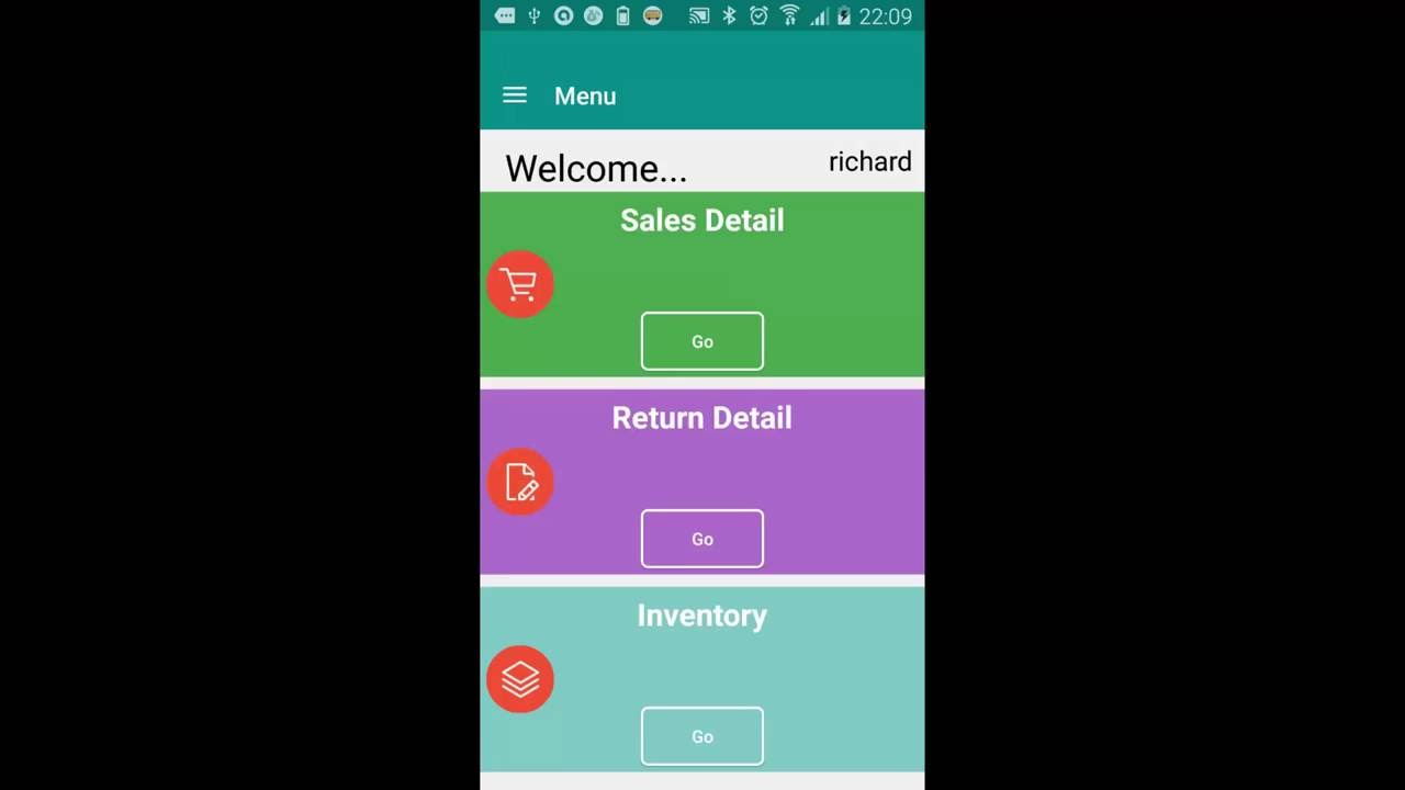 Van Sales Android App | HowTo Print Invoice