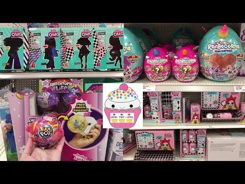 Toy Hunt #195 LOL OMG Fashion Dolls Pikmi Pops Bubble Drops 99 Cent Store Blind Bags Toy Hunting