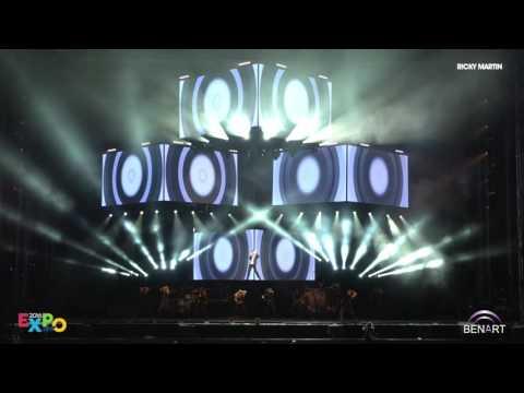 ONE WORLD RICKY MARTIN TOUR 2016 | EXPO 2016 ANTALYA KONSERİ