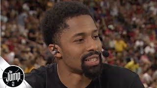 Spencer Dinwiddie talks KD-Kyrie to the Nets, flames Knicks fans | The Jump